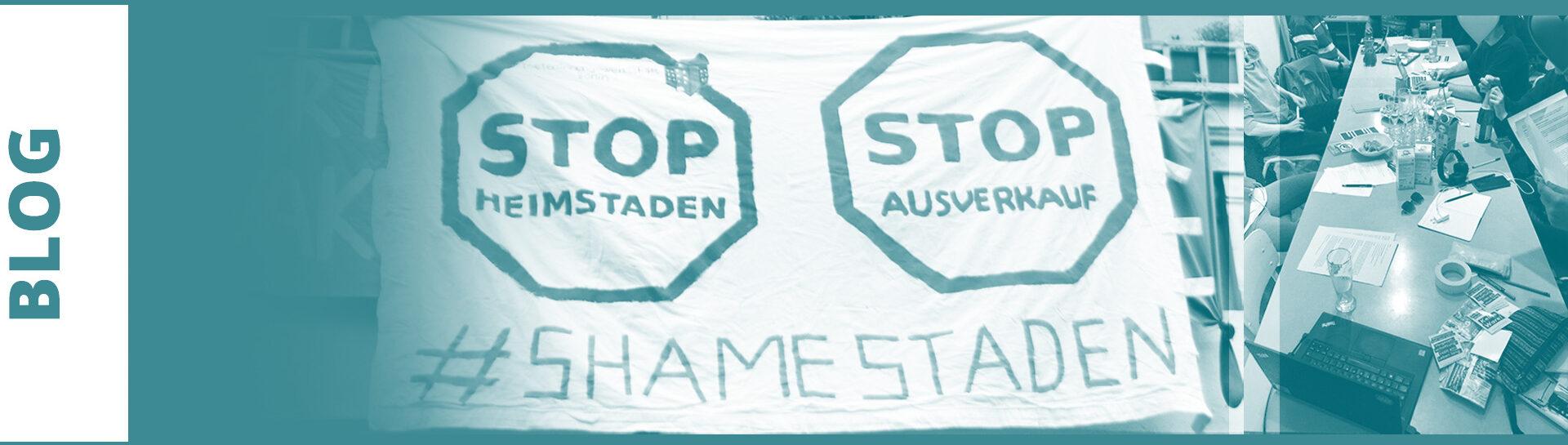 Bild StopHeimstaden Gründung